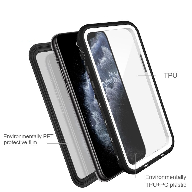 Diving Waterproof Rugged Cover iPhone 11 Pro XR XS Max
