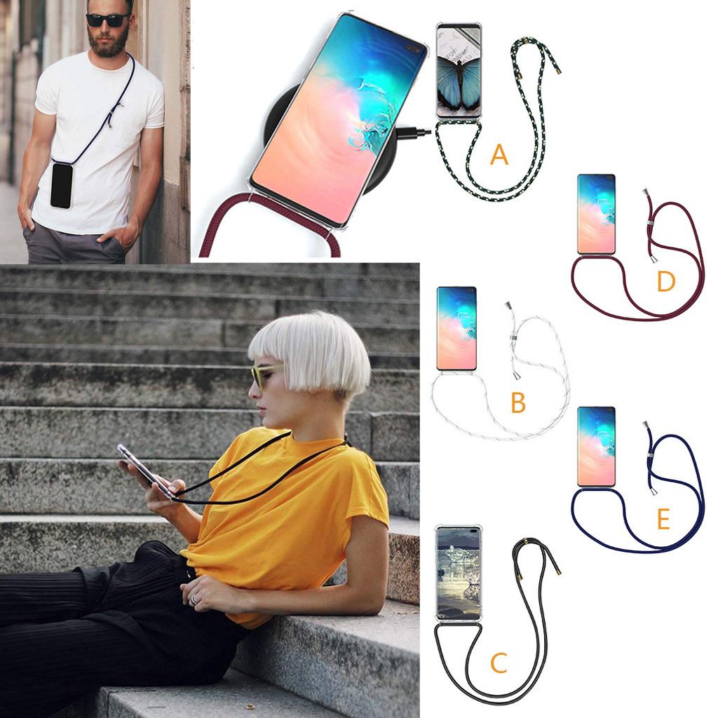 Case Pendant Over Strap Cellphone Neck Rope String Samsung