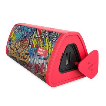 MIFA Red-Graffiti Bluetooth Speaker