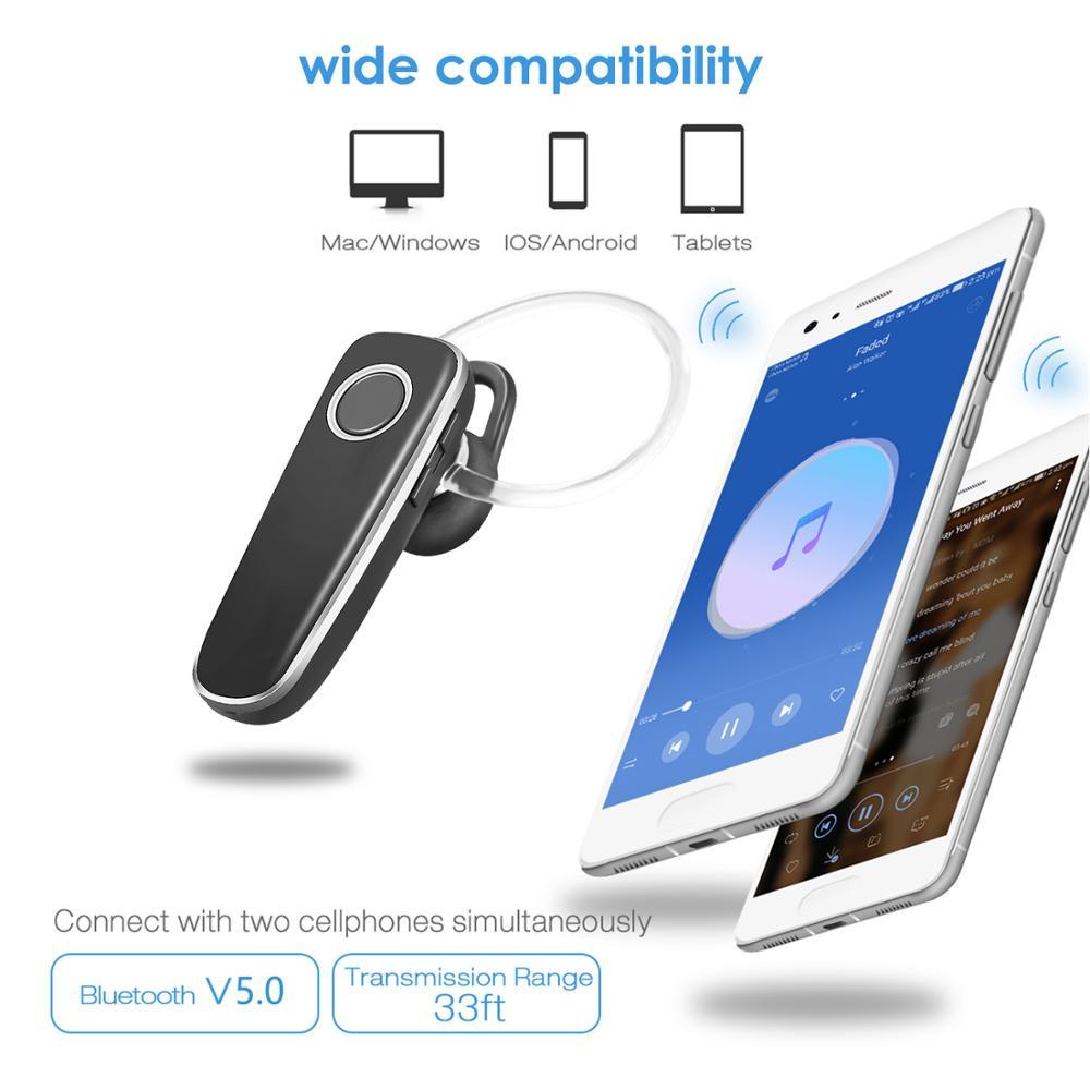 Wireless Bluetooth Handsfree Earpiece