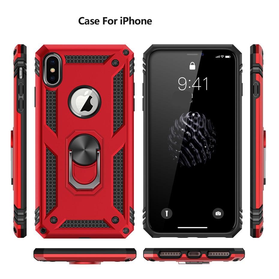 Magnetic Car Mount Case iPhone SE X XR 11 Pro Max