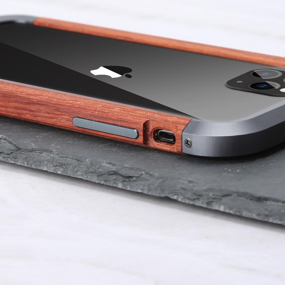 Hybrid Metal Wood Case