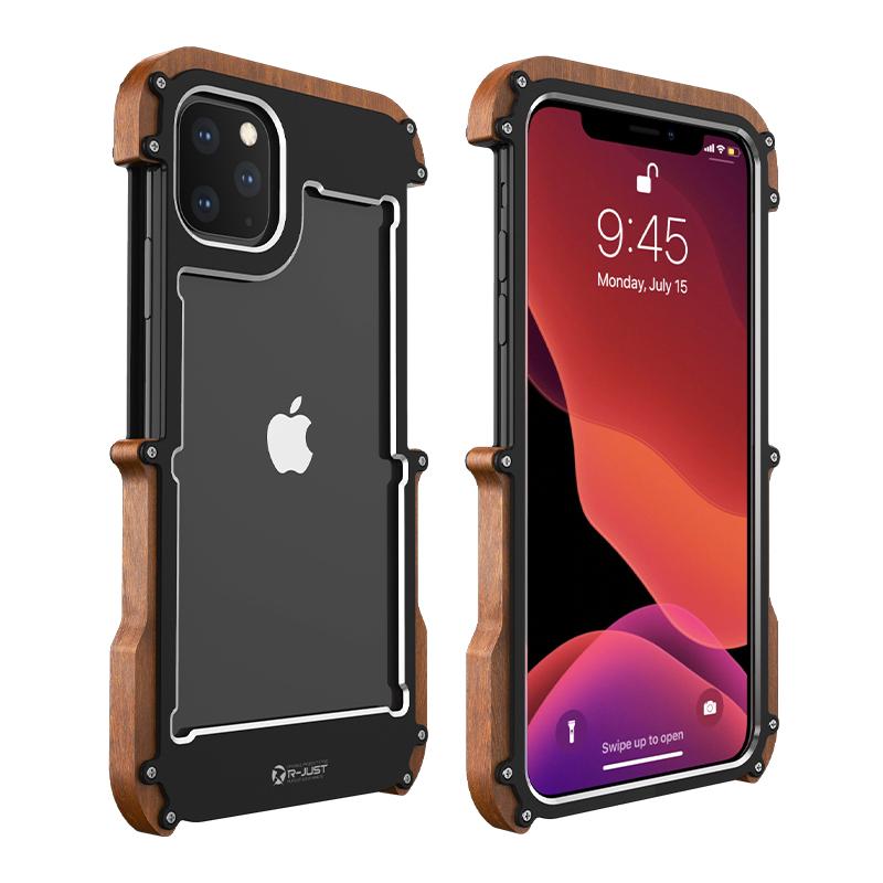 Luxury Aluminum Screws Phone Cases
