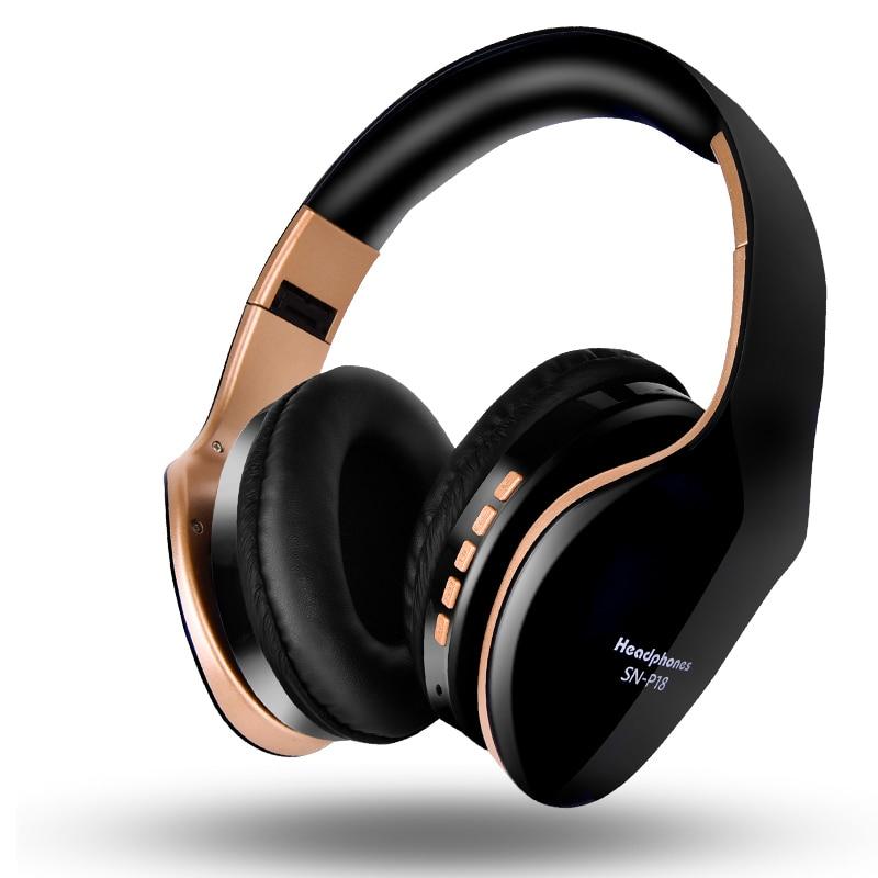 Foldable Stereo Headphone Headset